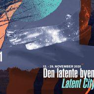 Digital arrangement: Latent City - Invisible Fields #1