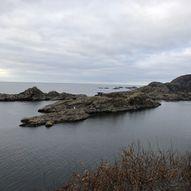 Rundtur på Hidra fra Rasvåg, Kalven, Langeland og tilbake til Rasvåg