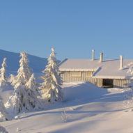 Lett skitur til Eriksbu på Blefjell