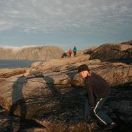 Norge på langs med barn / Etappe 16.3 / Olderfjord–Nordkapp