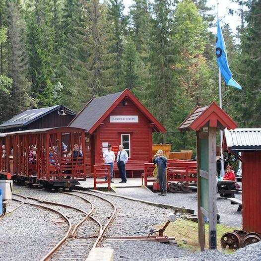 Lommedalsbanen Togmuseum
