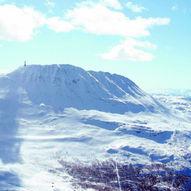 Topptur på ski til Gaustatoppen