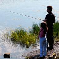 Fiske- og telttur velegnet for barnefamilier.