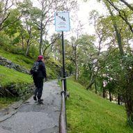 Fra Hurtigrutekaia til Aksla