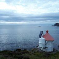 Kjerringehalsen fyrlykt på Frøya.