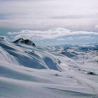 Skidtur i Holmafjellet i Bjerkreim kommune