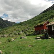Stien mellom Grønningsæter og Tjønnebu