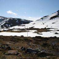 Nystølen til Geitenakken 987 moh