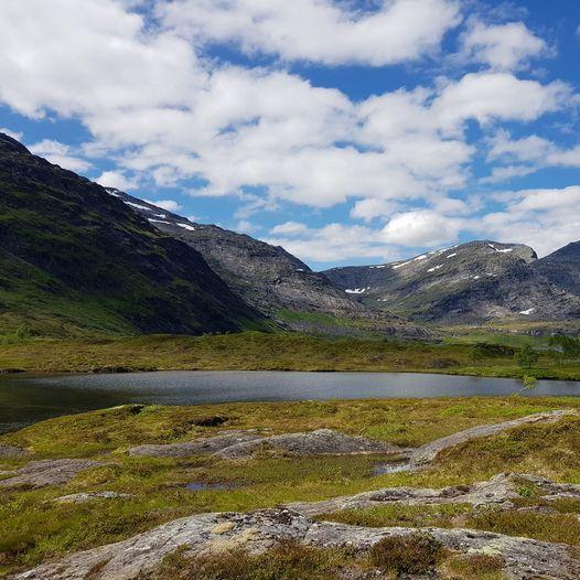 Til Heggmovatnet fra Valnesfjord, via Drogvatnet og Storbakken