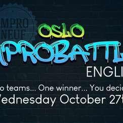 Oslo Impro Battle (English) 27Oct2021