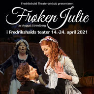 Frøken Julie 14. april PREMIERE