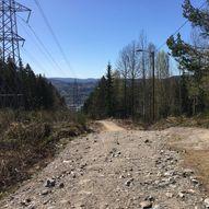 Kastanjesletta - Landfalltjern, via Blåsteinsbakken