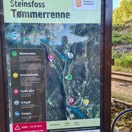 Tur i Tømmerrenna: Steinsfossen, Paulen gård, Kringsjaa kraftstasjon og vedeldorado på Knudane  (Vennesla, Iveland)