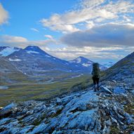 Glomfjord-  Gråtådalen- Beiardalen- Tverrdalen- Tollådalen- Saltfjellet- Bjøllådalen/NordreBjøllåvatnet- Saltdal- Evenesdal/Storengdalen- Balvatnet/Sulitjelma- Svergie/Mavas- Tjorvi- Jakobsbakken- Fagerlia i Sulitjelma.