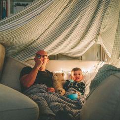 Arranger filmkveld hjemme med hele familien