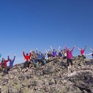Topptur til Stangnestind - Stáŋganasčohkka 725 moh. i Tana kommune