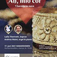 Ah, mio cor - I barokkens navn, Laila Thortveit og Andrea Maini