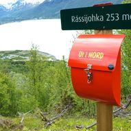 Rássijohka, Kåfjord