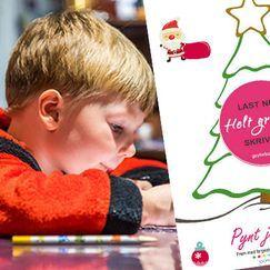 Finn frem fargeblyanter og pynt juletreet – gratis aktivitetsark