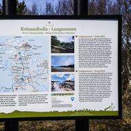Fottur fra Kvitsandholla via Langnesosen til Fartøyosen