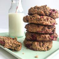 Peanut butter & jelly-frokostcookies – en skikkelig energi booster!