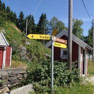 """Rundtur på """"Den gamle postveien"""""""