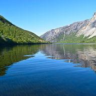 Padletur rundt Børvatnet i Bodø