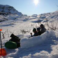 Vintertur til Vending fra Hamlagrø