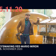 Whiskysmaking ved Mario Miron // Stasjonen i Tønsberg