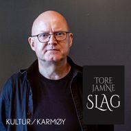 LilleLørdag | Tore Jamne blir bokbadet av Mona Aarø om boka Slag