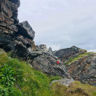 Måtinden via strandsti fra Bleik med retur over Nunstind