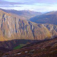 Trollheimen fra sør til nord
