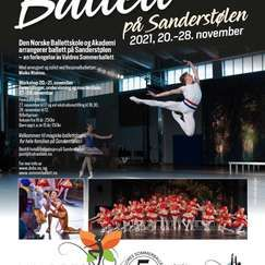 Ballett på Sanderstølen lørdag 27.11.21 kl. 17.00