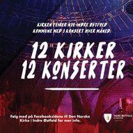 12 kirker - 12 konserter Hærland Kirke med Ingrid Bjørnov og lokal gjest