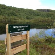 Redalen - Nordvikstølsvatnet - Norvikstølen - Redalen