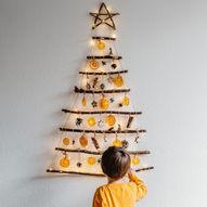 Juletreet du lager selv – ta med naturen inn