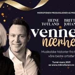 Venners nærhet  - med Britt-Synnøve Johansen og Heine Totland