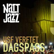 Dagspass LØRDAG 5. JUNI // Nattjazz 2021 // Amason m.fl.