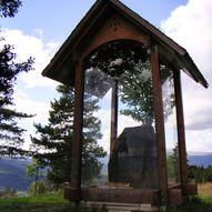 Einangsteinen i Gardbergfeltet i Vestre Slidre