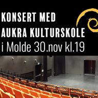 Konsert med Aukra kulturskole i Molde