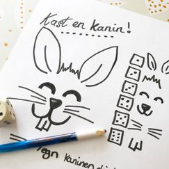 Kast en kanin! Morsomt terningspill for hele familien