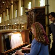Matinékonsert: Unge organister