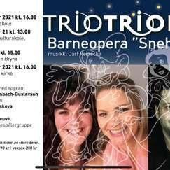 Barneopera Snehvit med Trio Triola
