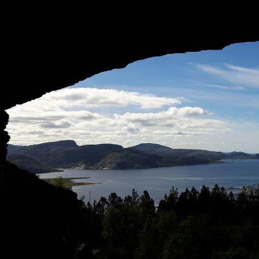 Svartholet - Strandafjellet - Anddalstjønna - Nordvika i Osen