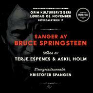 Sanger av Bruce Springsteen med Terje Espenes og Askil Holm med Kristofer Spangen