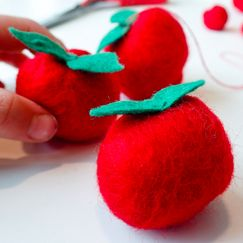 Slik tover du epler med barna
