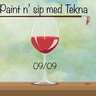 Maling og vin med Tekna