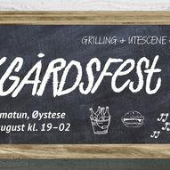 Bakgårdsfest