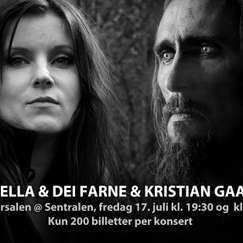 Lindy-Fay Hella & Gaahl    Sentralen - 17. juli
