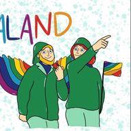 PRIDE WEEKEND HAUGESUND - PridePark // PrideTeltet, To Glass